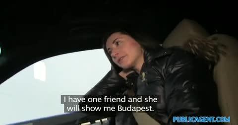 Namorada vadia quis transar dentro do carro